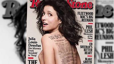 Julia nackt Louis-Dreyfus 41 Hot